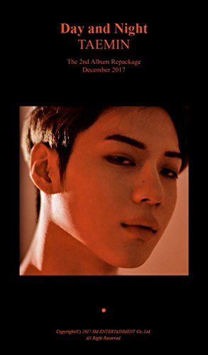 SHINEE TAEMIN [MOVE-ING] 2nd Repackage Album CD+Photobook+Card+Tracking Number K-POP SEALED
