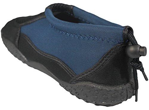 Greg Michaels Herren Wasserschuhe Aqua Socken - hohe Haltbarkeit, angenehm in Wasser und an der Oberfläche zu tragen Marine - 3