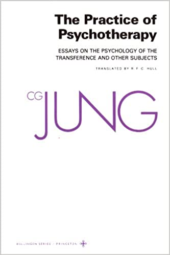 amazoncom the practice of psychotherapy essays on the psychology of the transference and other subjects bollingen series 9780691018706 c g jung