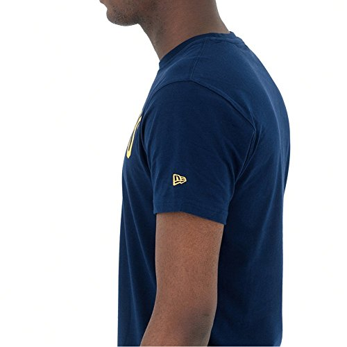A NEW ERA T-Shirt NBA Cleveland Cavaliers Team Logo Blu Formato: XS (X-Small)