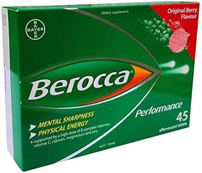 Berocca Performance Original 45 Effervescent Tablets