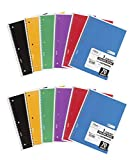 Mead IUYEHDUH Spiral Notebooks, 1 Subject, College Ruled Paper, 70 Sheets, 10-1/2\