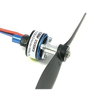 Small Parts CNC E-Flite UMX Timber 'Long' Aluminum Prop Adapter: Toys & Games