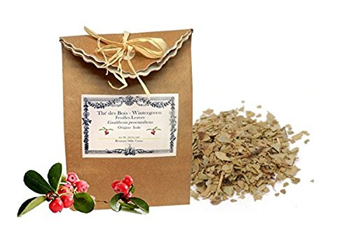 Wintergreen Leaves (Gaultheria procumbens) Dried & Cut Leaves 25g
