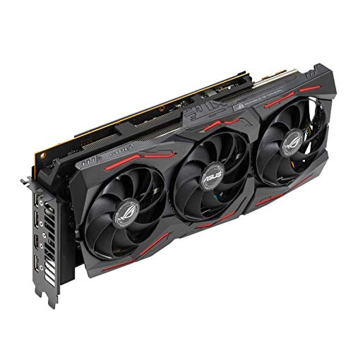 ASUS ROG Strix Radeon RX 5700 XT OC Edition 8 GB GDDR6 Gaming Graphics Card Including a Reinforced Frame (ROG-STRIX-RX5700XT-O8G-GAMING)
