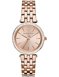 Michael Kors Women's Darci Rose Gold-Tone Watch MK3366