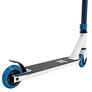 Pulse Performance Products KR2 Freestyle Scooter - Navy Blue/White by Bravo Sports