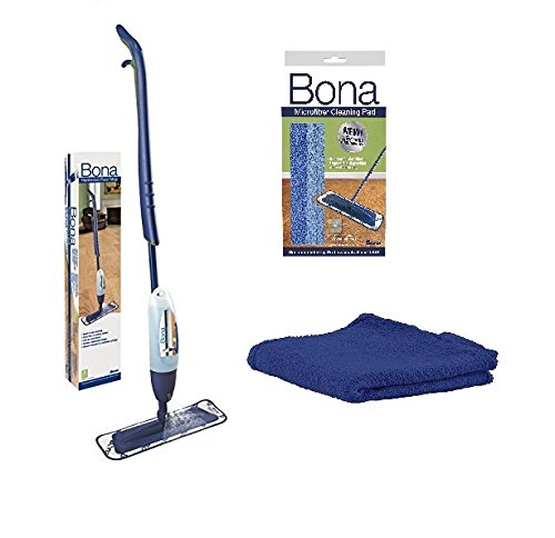 Spray Mop, includes 28.75 oz. Cartridge with Bona Microfiber Cleaning/Applicator Pad ()