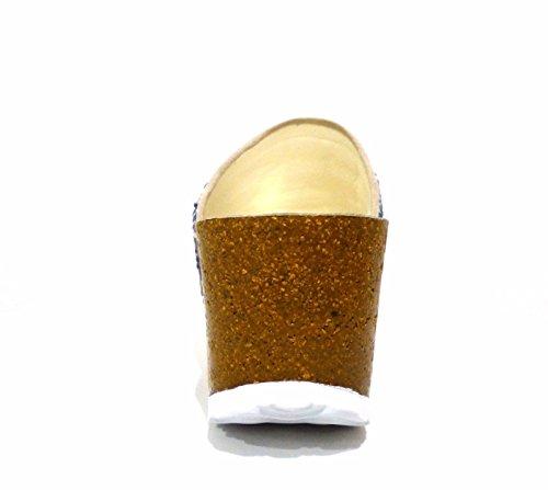 tela Multibeige CafèNoir beige beige Ha913 532 Sandalias para mujer de XxxBpaw