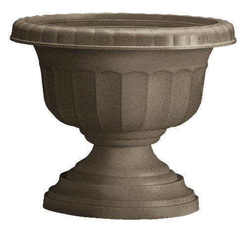 Fiskars 17 Inch Urn, Color Cement (33717 ) by Bloem