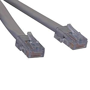 amazon com tripp lite t1 shielded rj48c cross over cable rj45 m tripp lite t1 shielded rj48c cross over cable rj45 m m 5 ft n266 005