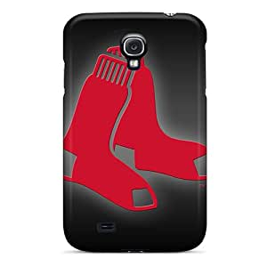 Shockproof Hard Cell-phone Cases For Samsung Galaxy S4 With Support Your Personal Customized Stylish Boston Red Sox Skin JacquieWasylnuk