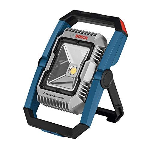 Bosch Professional 18V System Akku LED-Baustellenlampe GLI 18V-1900 (max. Helligkeit 1900 Lumen, ohne Akkus und…