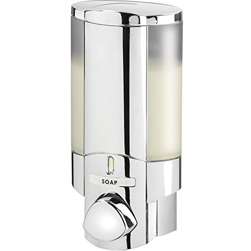 aviva-76140-1-single-bottle-shower-dispenser-chrome