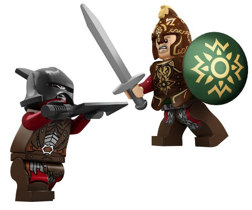 41oe75fifuL - LEGO The Lord of the Rings 9474 The Battle of Helm's Deep (Discontinued by manufacturer)