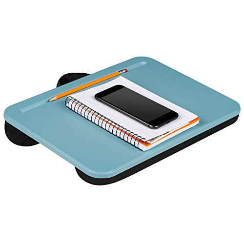 LapGear Compact Essential Lap Desk - Alaskan Blue (Fits up to 13 Laptop)