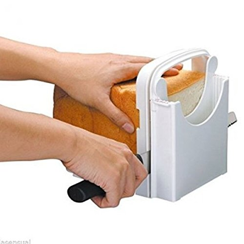 Eon Concepts Bread Slicer Guide For Homemade Bread With Mini Bread Recipe E-Book | Loaf Cutter Machine - Foldable Adjustable & Customizable to 5 Thickness | Bagel / Sandwich / Toast Slicer by Eon Concepts (Image #8)
