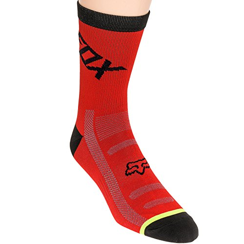 Fox Mens Dh 6 Inch Socks  Red  Large X Large