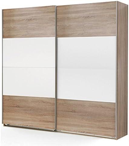 180 cm armario de puertas correderas de madera de roble - armario ...