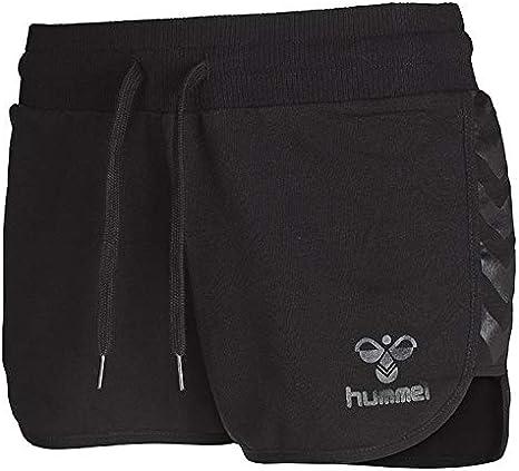 hummel Classic Bee Tech para Mujer Pantalones Cortos Negro Negro Talla:XXL