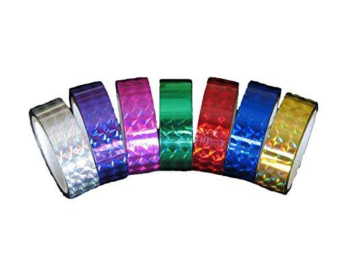 Decorating Adhesive Prism Laser Tape - 1/2 in. (0.5