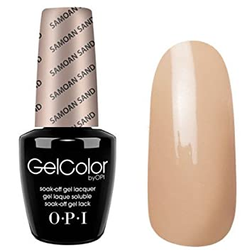 OPI Gel Color - Samoan Sand 15ml - UV/LED Nail Polish Gel 100 ...
