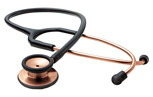ADC Adscope 603 Clinician Stethoscope with Tunable AFD Technology, 31 inch Length, Copper