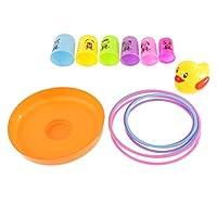 SONONIA 14個セット プラスチック リングトス スローゲーム 子供 スタッキング おもちゃの商品画像