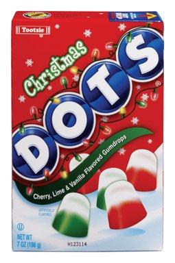 - Tootsie Roll Industries Llc Christmas Dots Candy6Oz Case Of 12, Tootsie Roll Industries Llc