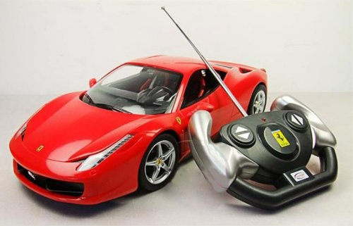 Backhomeday 1:14 Ferrari 458 Italia Remote Control Car R/c Car Model
