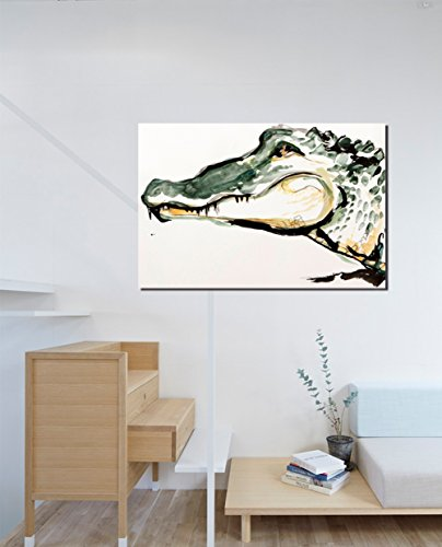 (COLORSFORU american alligator Custom Poster 20x30 Inch Canvas Wall Art Print Home Modern Decoration )