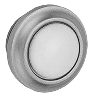 Jaclo 9830-B-PEW Blank Porcelain Replacement Index Button, Pewter