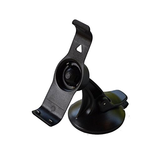 EKIND Car Windscreen Windshield Suction Cup Mount Holder Cradle For GPS Garmin Nuvi 25xx Series(2500 2505 2515 2545 2515LT 2545LMT 2555LMT 2555LT 2585TV 2595 2595LMT) Black