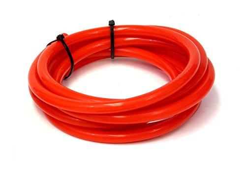 HPS HTSVH95-RED Red 1' Length High Temperature Silicone Vacuum Tubing Hose (40 psi Maxium Pressure, 3/8' ID) 3/8 ID)