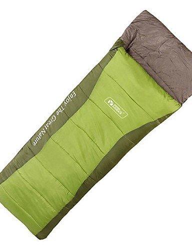 KOE Schlafsack Rechteckiger Schlafsack Einzelbett(150 x 200 cm) -5¡æ Hohlbaumwolle 300g 220X75 Reisen Wasserdicht Mobi Garden
