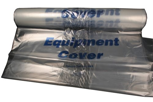 Clear Plastic Equipment Cover for Ventilators 28 x 22 x 56