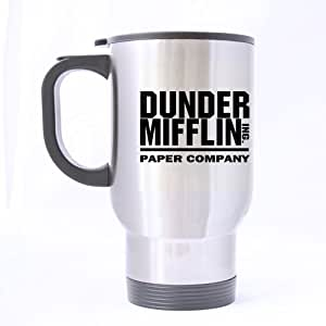 Durable Dunder Mifflin Theme - 100% Stainless Steel Material Travel Mugs - 14oz sizes by Dunder Mifflin Travel Mug