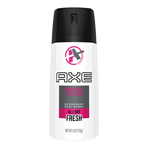 AXE Body Spray for Women, Anarchy for Her, 4 - Deodorant Shower Spray Aerosol