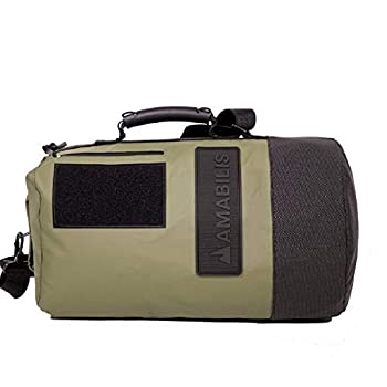 Image of Amabilis Dave Jr Water Resistant, Heavy Duty Tactical Duffel Bag, 18 x 10 Inches - 23 Liters/1413 cu.in. Luggage