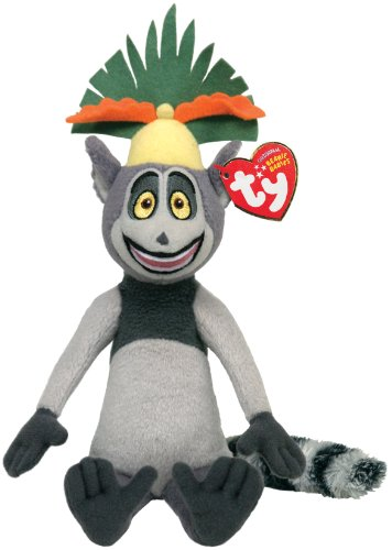 Ty Beanie Baby King Julien Madagascar (Best Of King Julian Madagascar)