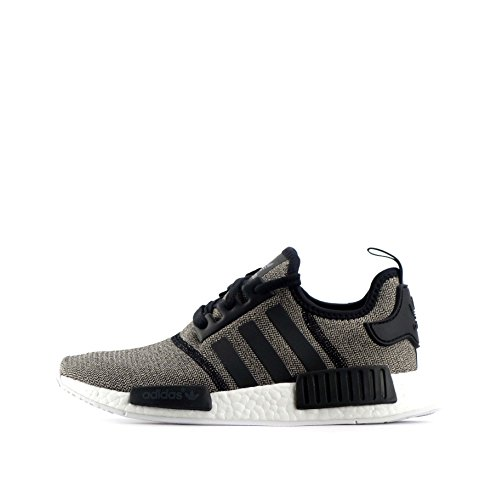 adidas Originals NMD_R1 Womens Trainers Sneakers Shoes (US 6, Black BA7476)