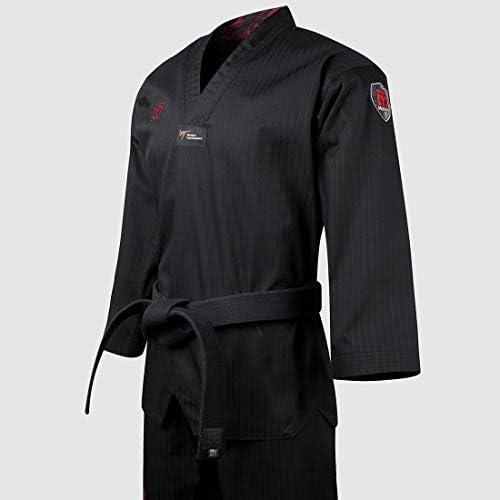 Negro, Rojo, Azul Mooto Korea Taekwondo BS4.5 Color Uniforme 3 Colores TKD MMA Artes Marciales Karate Hapkido Judo JIU-Jitsu