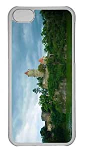 Customized iphone 5C PC Transparent Case - Zvikov Castle Personalized Cover