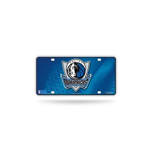 NBA Dallas Mavericks Metal License Plate Tag - Black Dallas Mavericks Frame