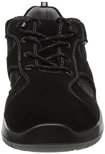 Abeba Uni66701–35zapato bajo negro, Negro, 6701-46