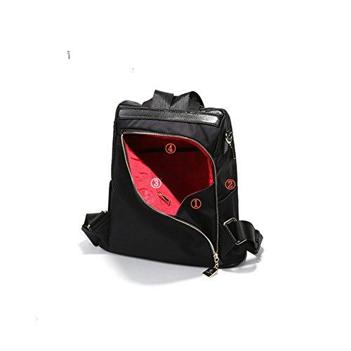 Morral femenino de cuero suave, bolso salvaje del hombro de la manera-C A