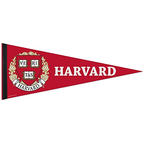 NCAA 40046013 Harvard College Premium Pennant, 12