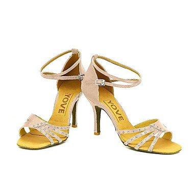 XIAMUO Anpassbare Frauen Beruf Tanz Schuhe, Nude, Us5.5/EU36/UK3.5/CN 35