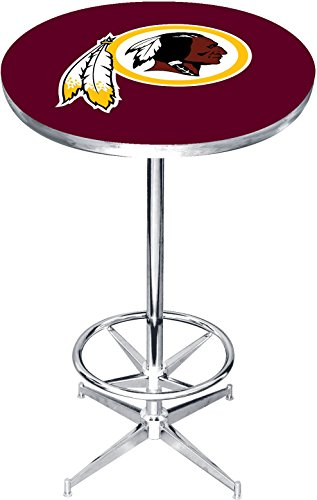 Imperial Officially Licensed NFL Furniture: Round Pub-Style Table, Washington Redskins