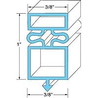 True Manufacturing 810802 Door Gasket 24 5/8 X 54 1/8 Rubber R-Type for True Refrigerator Gdm-72F 741056